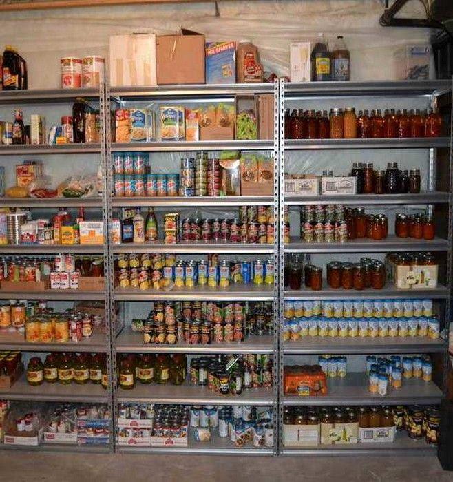 food storage shelving units