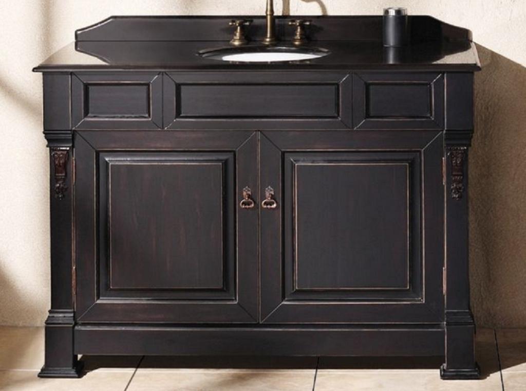 Bathroom Vanities Distressed : DIY Distressed Bathroom Cabinets ...