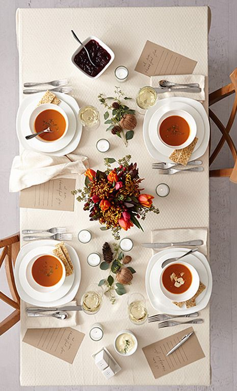 Tips for a Beautiful and Simple Fall Table Clementine Daily