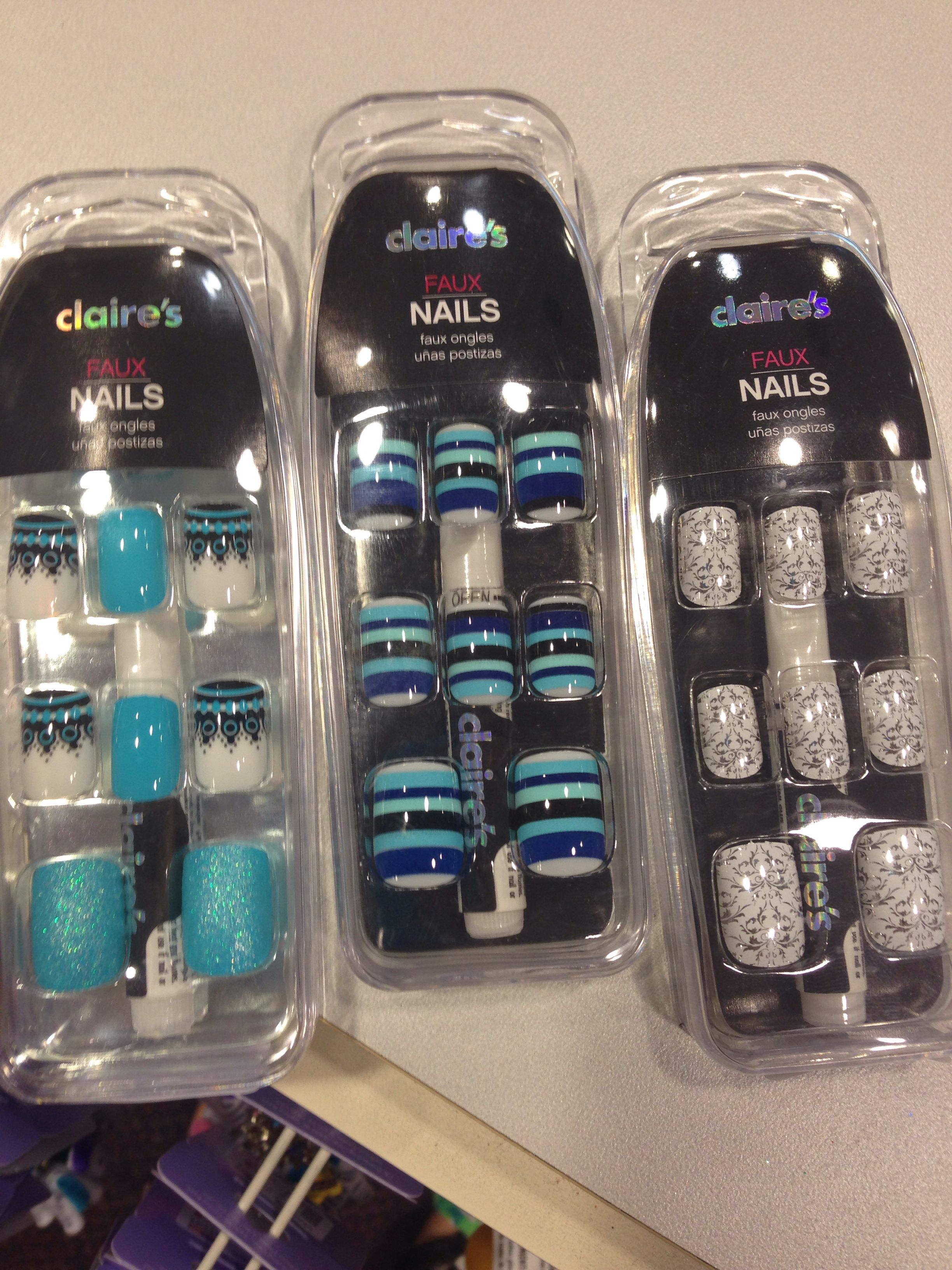 Found These Awesome Faux Nails At Clairs Claires Fake