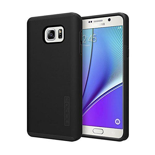 Incipio DualPro Cell Phone Case Cover - Galaxy Note5 - (Black/Black) - Retail Packaging - (A Grade)