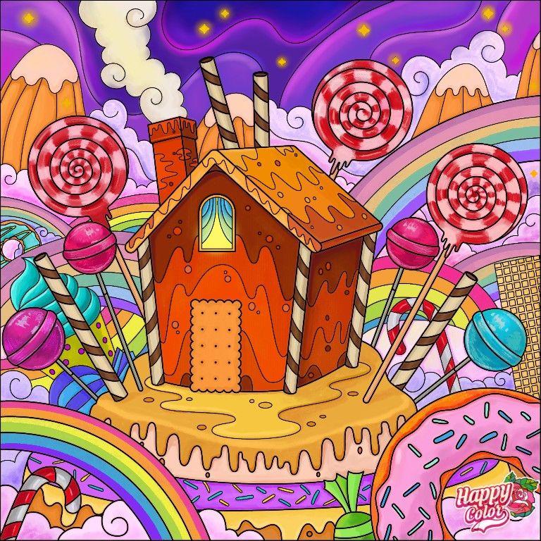 Пин на доске Рисунки из Happi Color
