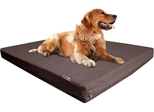 Dog Bed Anti Chew Dogbed4less True Orthopedic Memory Foam Dog