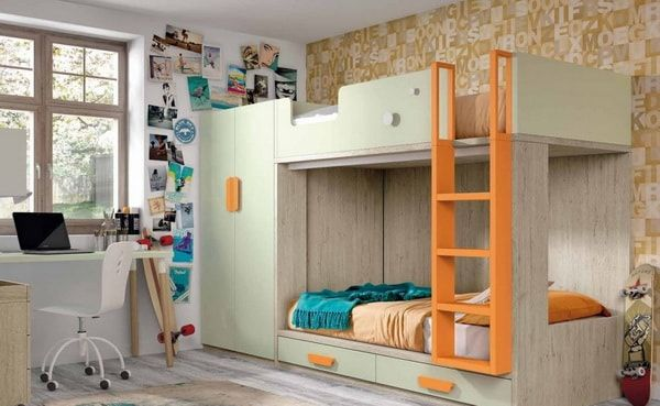 Dormitorios juveniles modernos Muebles para dormitorios - recamaras de madera modernas