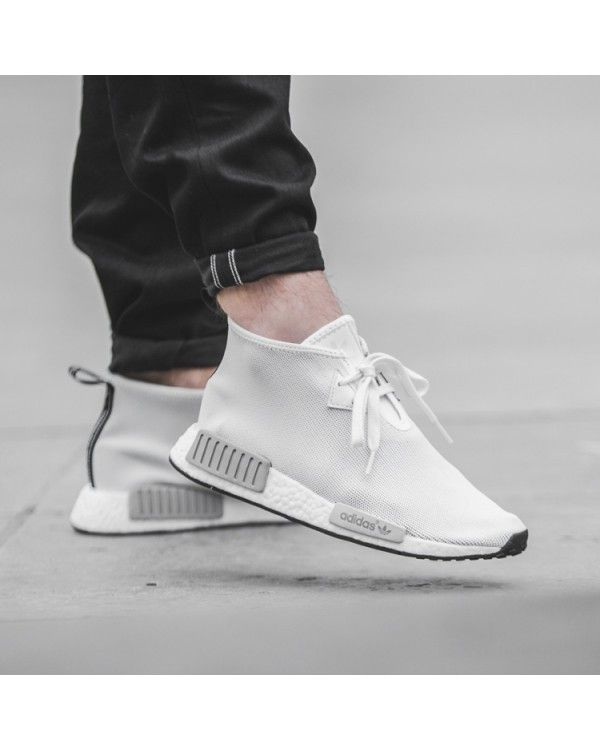 Adidas NMD CHUKKA Classic Shoes Men Old White First-Rate  dd983477b