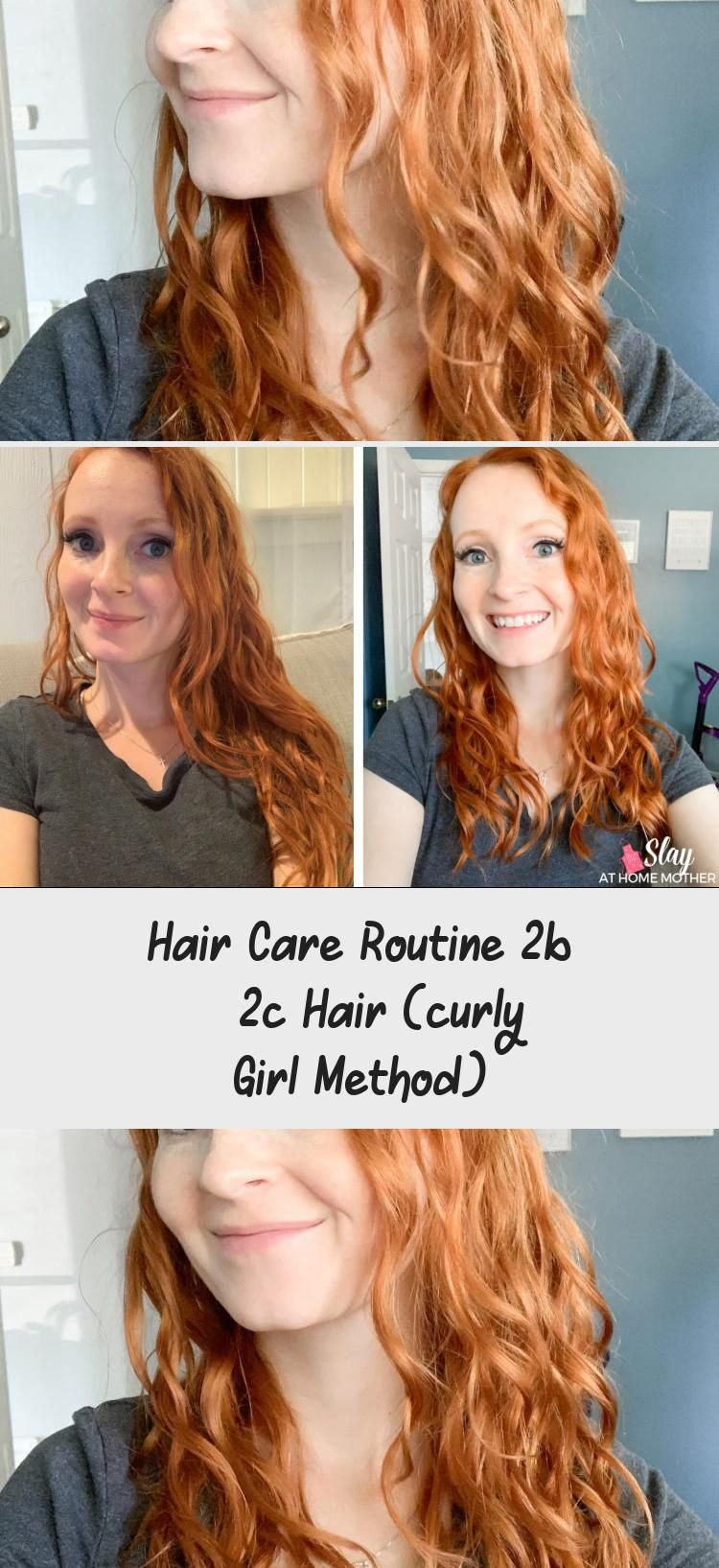 Hair Care Routine 2b 2c Hair Curly Girl Method In 2020 With