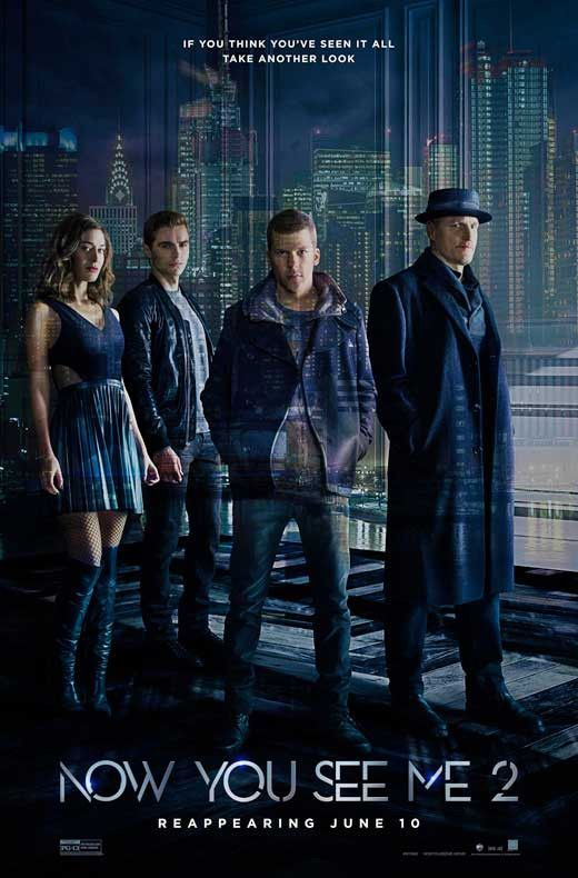 Now You See Me 2 2016 11x17 Movie Poster Filmes Posteres De