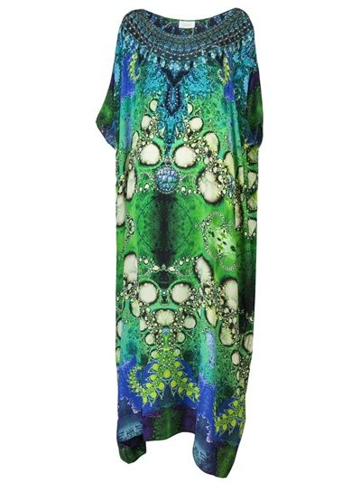 7a96a927029 CAMILLA Sinti Bubble Kaftan Dress