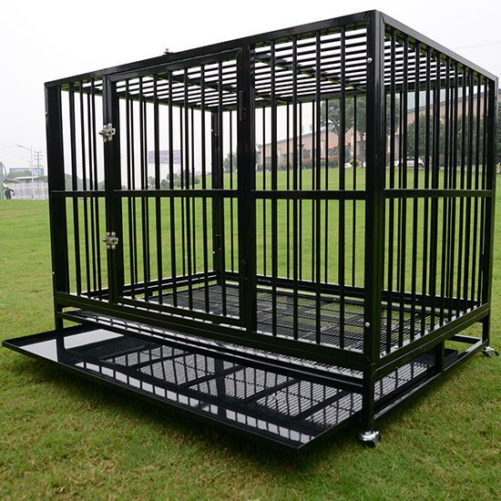 Details About 48 Heavy Duty Dog Cage Crate Kennel Metal Pet