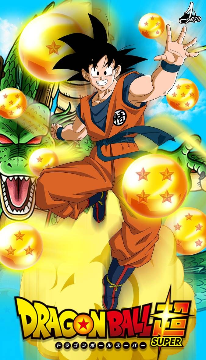 Poster Son Goku DBS by jaredsongohan on DeviantArt