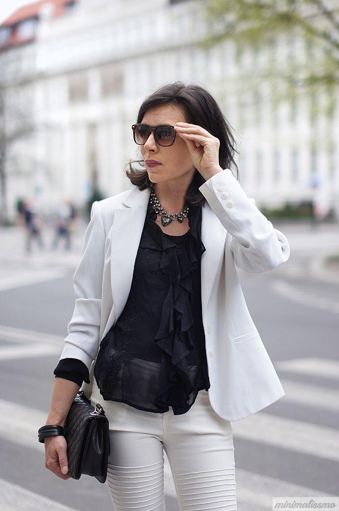 Minimalissmo Blog Modowy Black And White Black And White Black Fashion