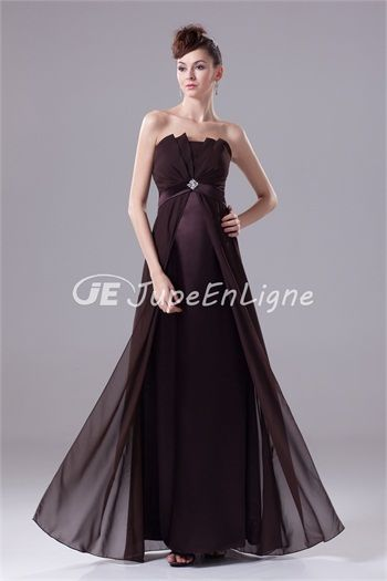 unique design Strapless Satin Chiffon Sleeveless Floor-Length http://en.jupeenligne.com/unique-design-Strapless-Satin-Chiffon-Sleeveless-Floor-Length-p20792.html