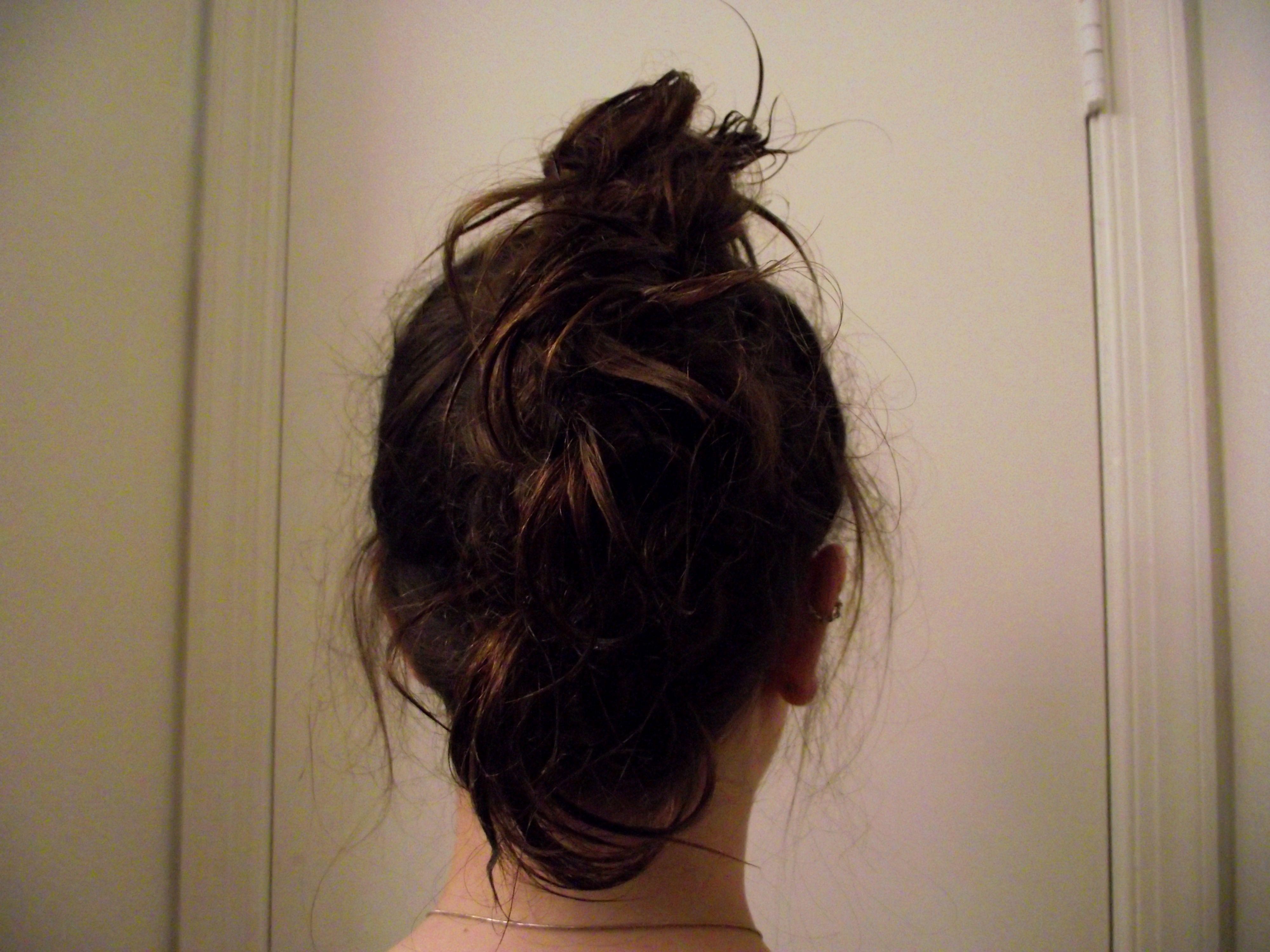 My hair goes half way down my back mohawking pinterest