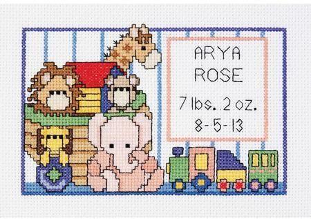 Mini counted cross stitch kit//chart 14s aida