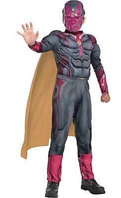 Lovely Boys Vision Muscle Costume   Captain America: Civil War