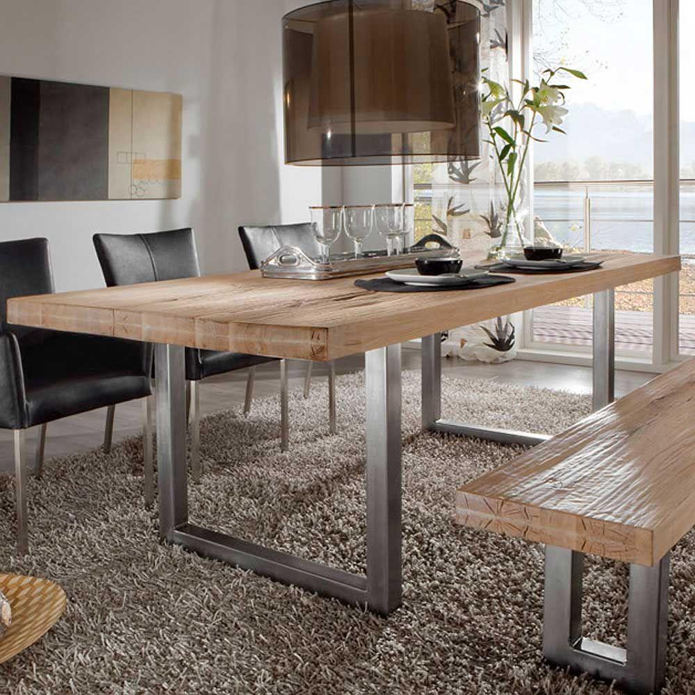 Massivholz Esstisch Aus Balkeneiche Holztisch ,massivholztisch,küchentisch,esszimmertisch,holztisch Massiv,tisch