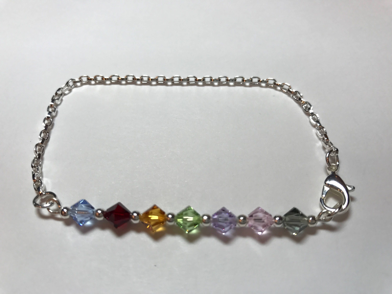 Phlebotomy Er Rainbow Order Of Draw Bracelet Used In The