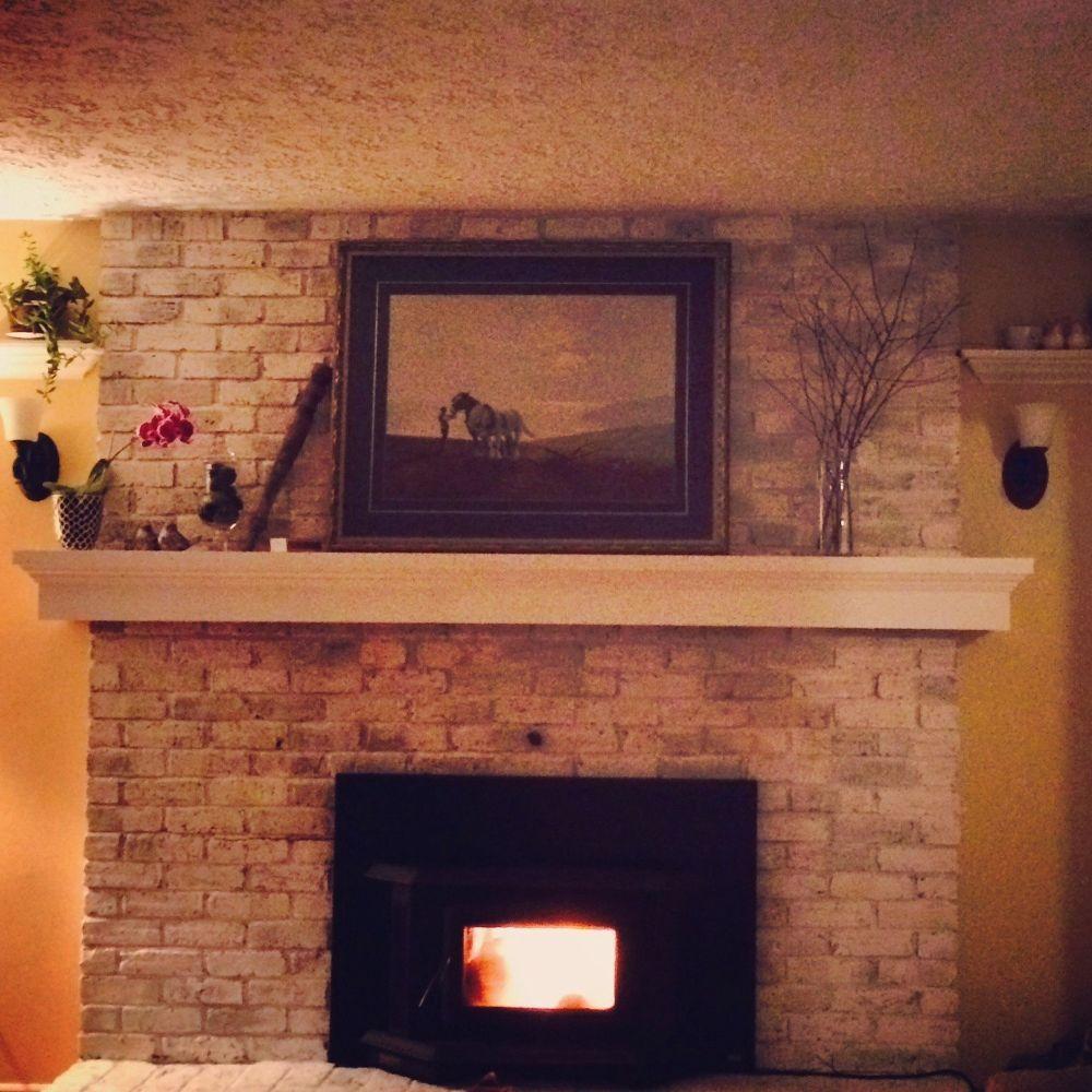 Fab Home Decor: Home Decor, Living Room With Fireplace