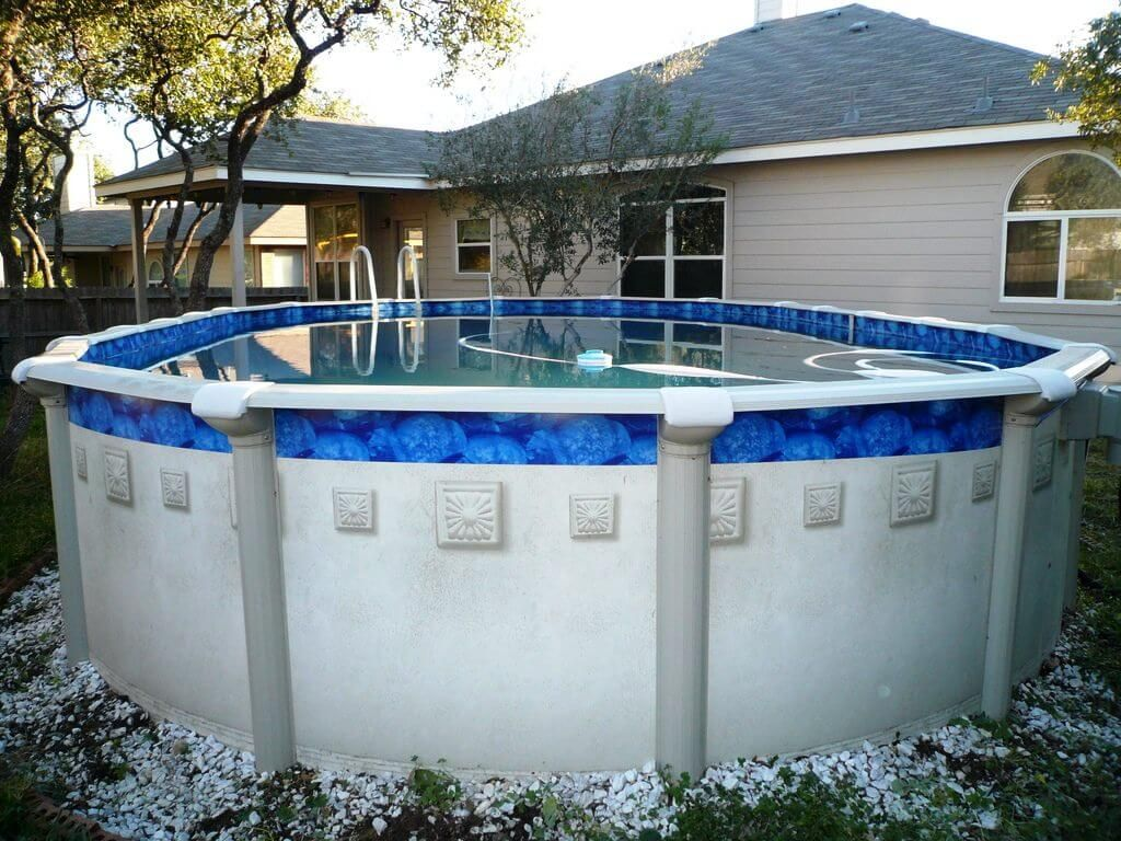 Above The Ground Pools At Walmart Pools Backyard Pool Cost Swimming Pools Backyard Backyard Pool