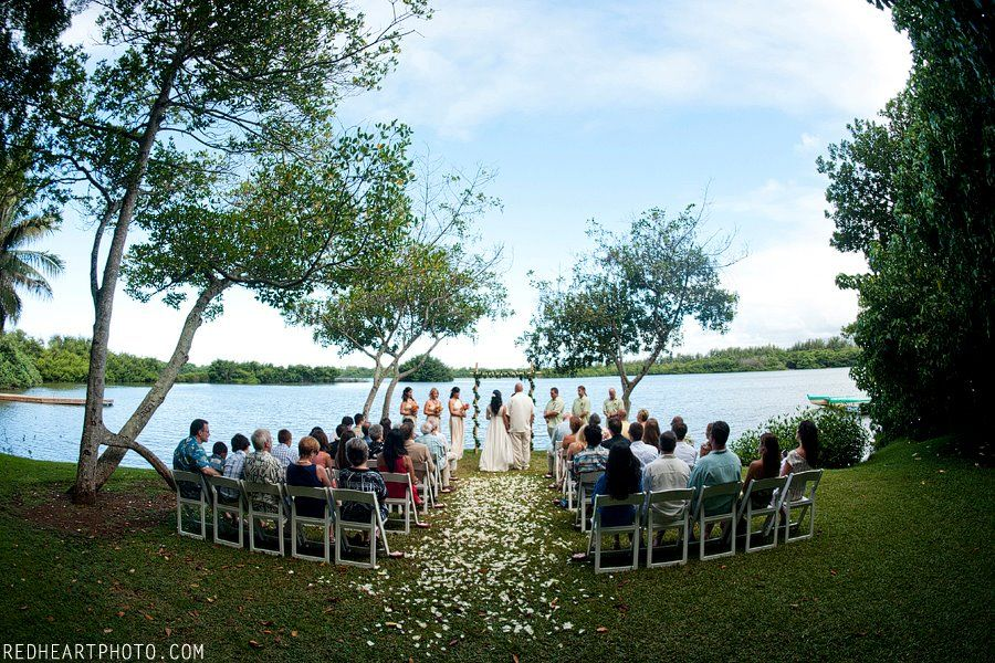 Beautiful Moli I Garden At Kualoa Ranch Oahu Wedding Location