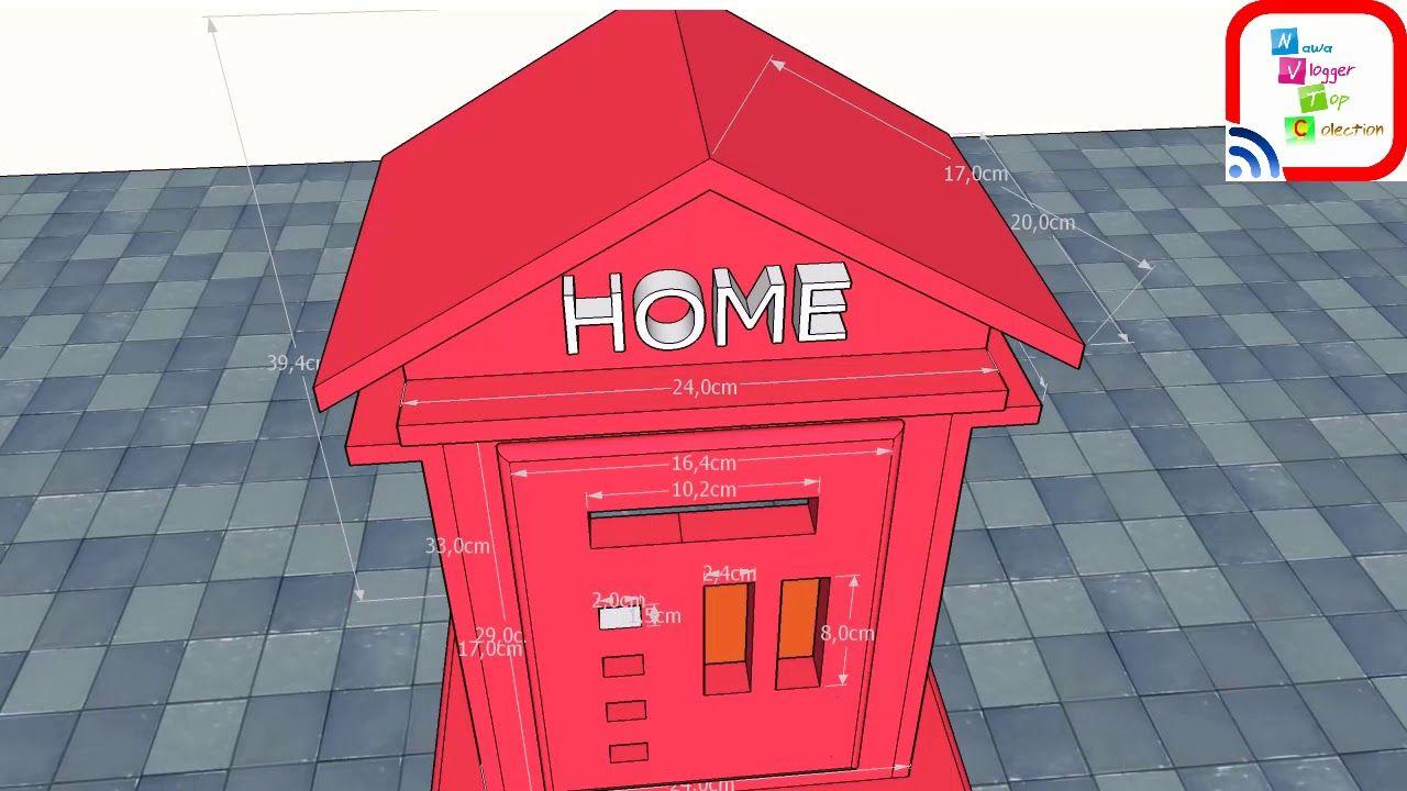 Diy Stationery Rack Rak Buku Kayu Portable Random5 Daftar Zehn 9004001800mm 4 Layer Black Bok Meteran Listrik Model Rumah Unik