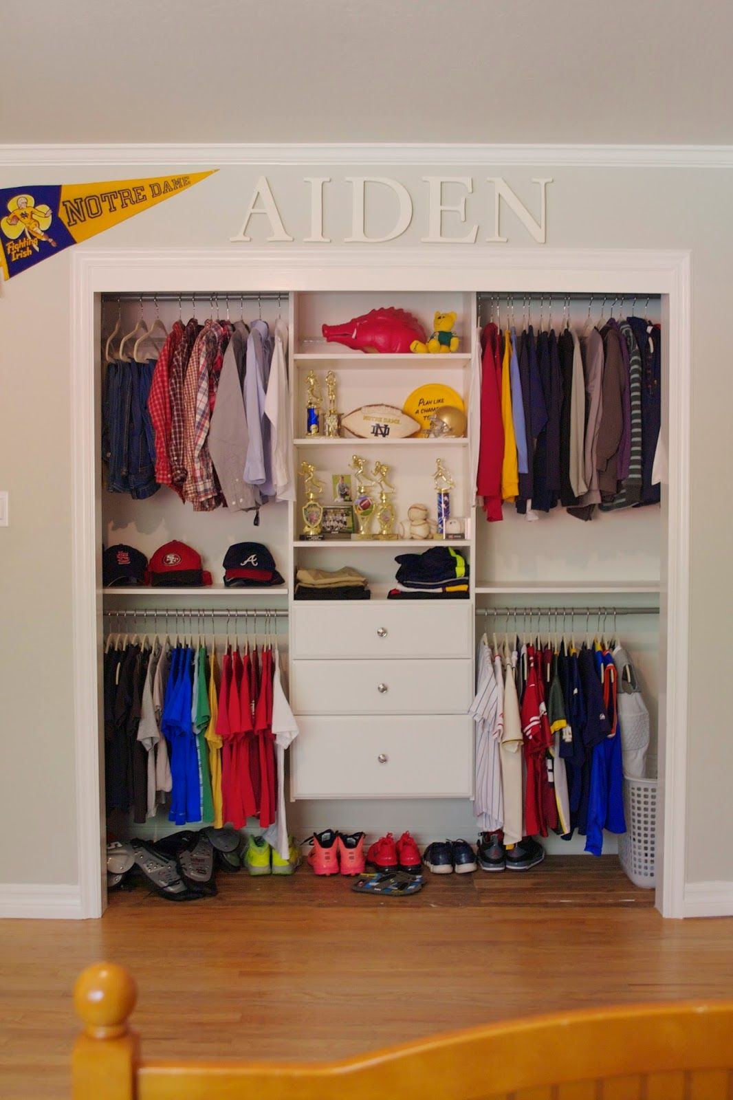 kids closet door closet organization made simple