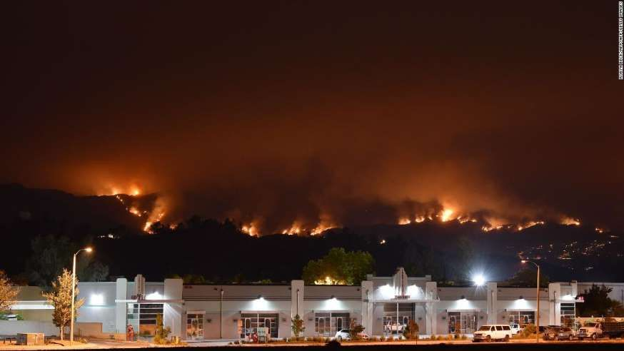 Fire chief Suspect in Holy Fire that put 20 000 under evacuation