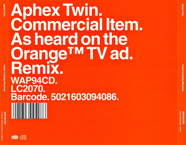 Aphex Twin - Come To Daddy Remixed (CD) at Discogs
