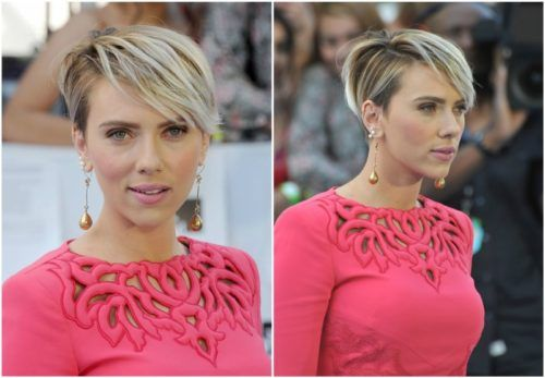 Celebrity Scarlett Johansson - hair changes, photo