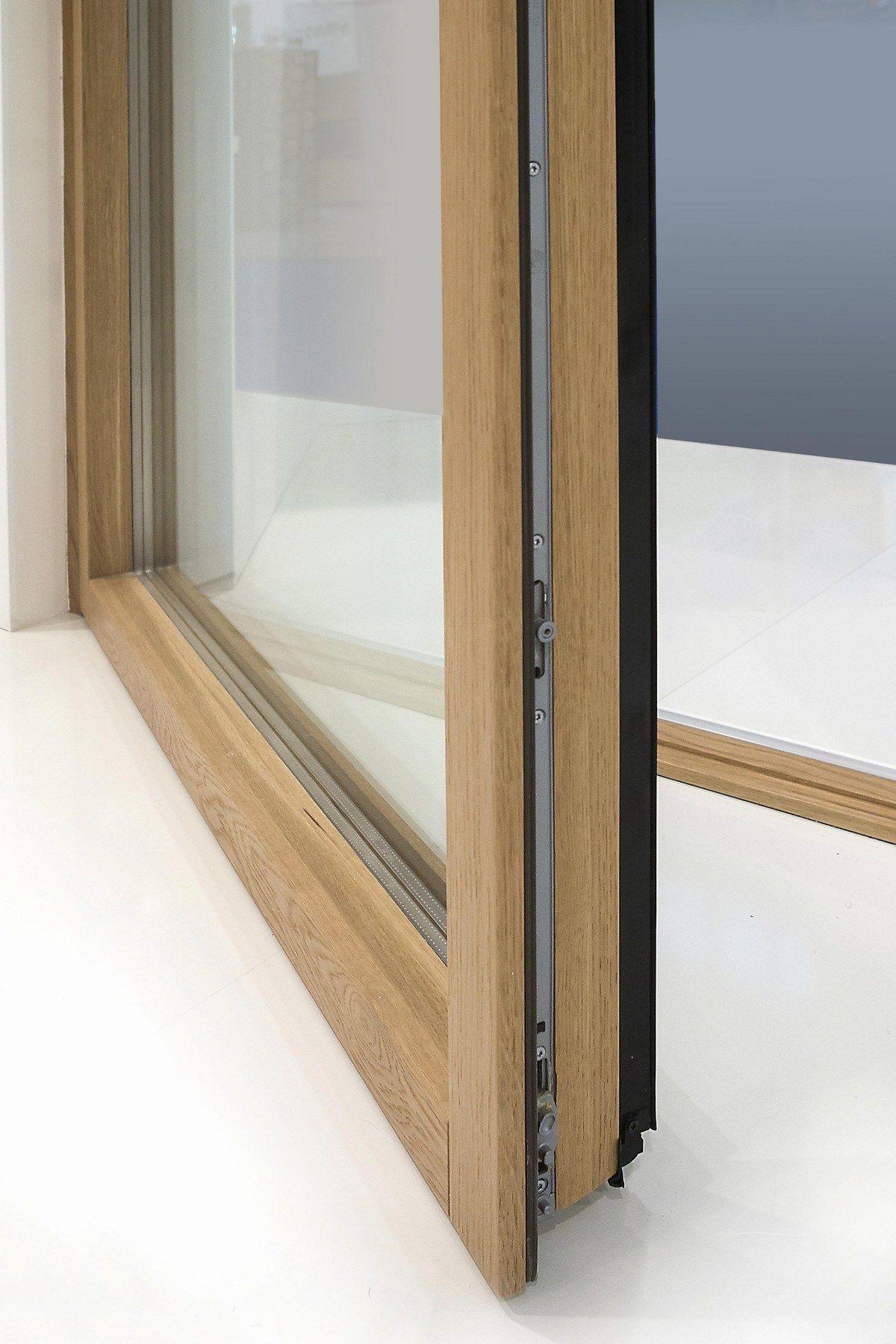aluminium and wood patio door minimal wood patio door de carlo
