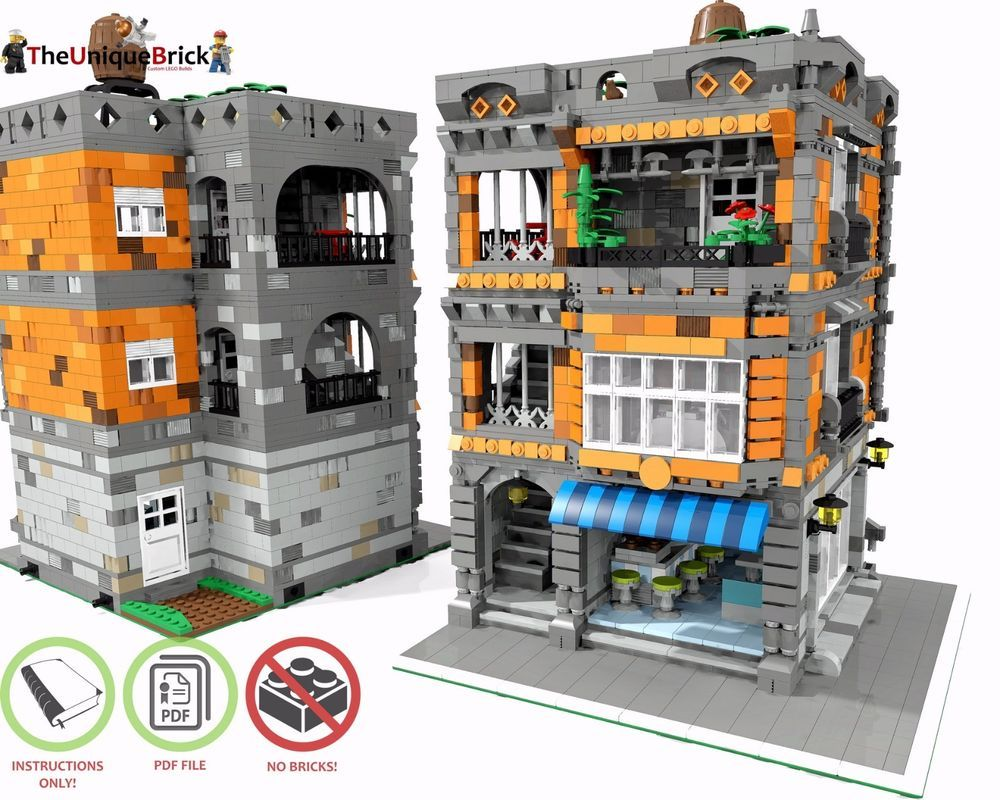 Details about LEGO MOC Modular Patisserie - CUSTOM Model