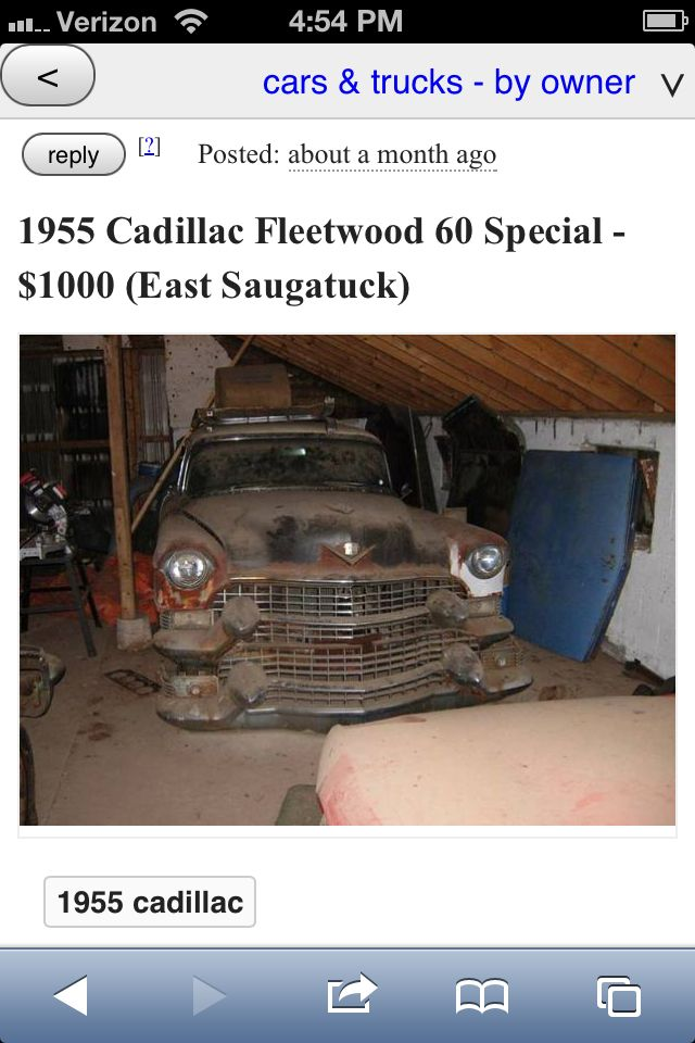 For Sale 1955 Cadillac Fleetwood 60 Special This Car Is Not
