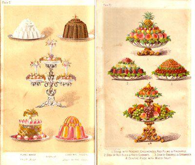 drawings of food service