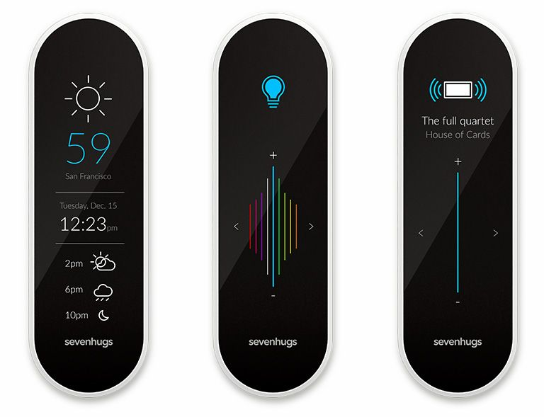 Smartphone Home Control the sevenhugs remote promises to be an intuitive interface to