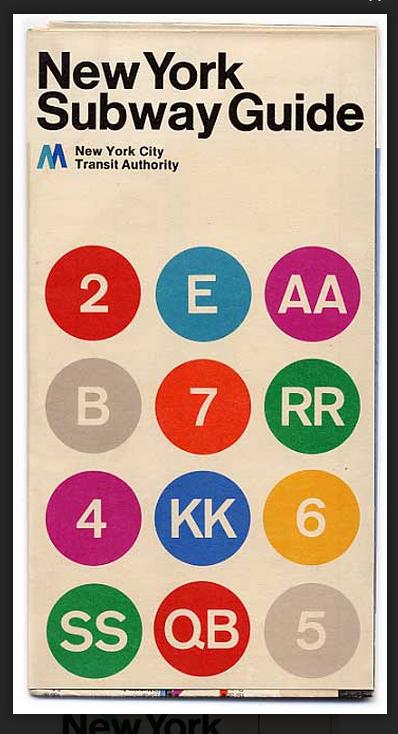 15 Subway Maps That Trace NYC s Transit History Pinterest