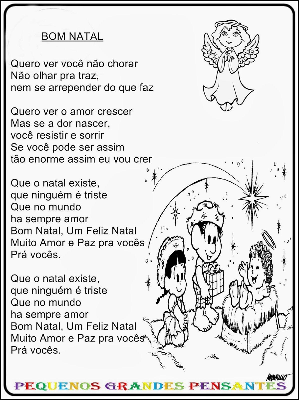 Populares Músicas Natalinas Para Educação Infantil | Música de natal  UW47