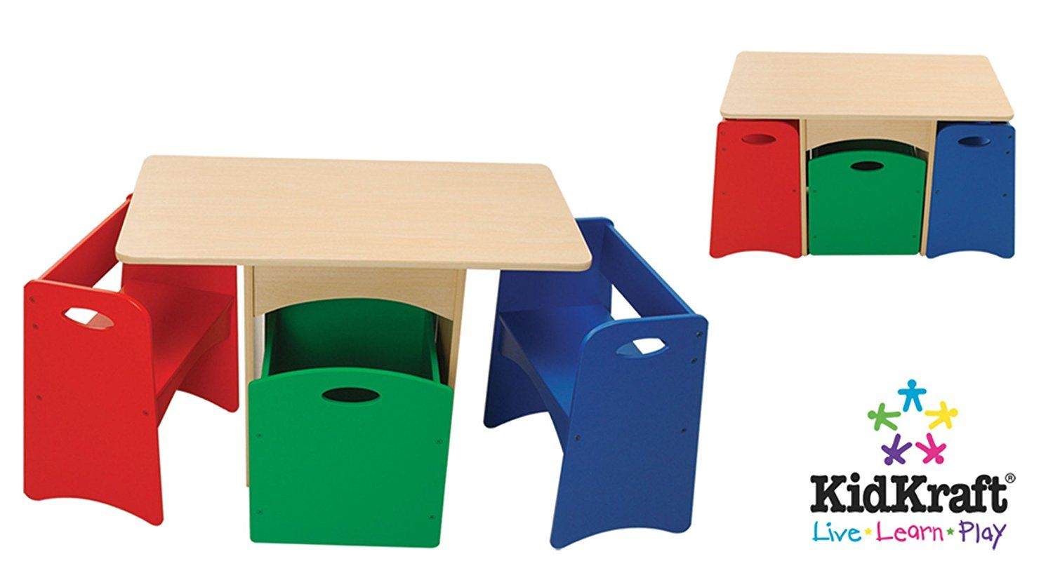 Bon KidKraft Table With Primary Benches    You Can Find More Details By  Visiting The Image