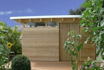 Design Gartenhaus Classic das Flachdach Gartenhaus