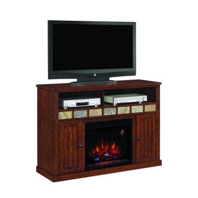 classic flame sedona 23 in media mantel electric fireplace in oak