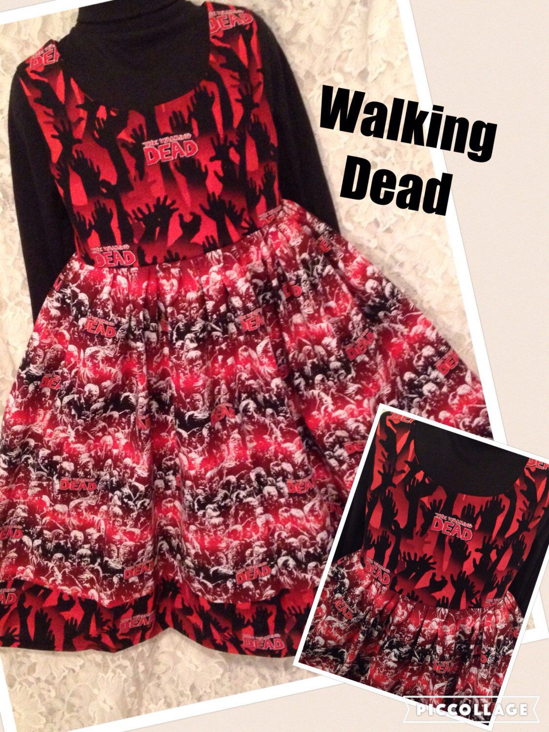 The Walking Dead * classic jumper style dress for child