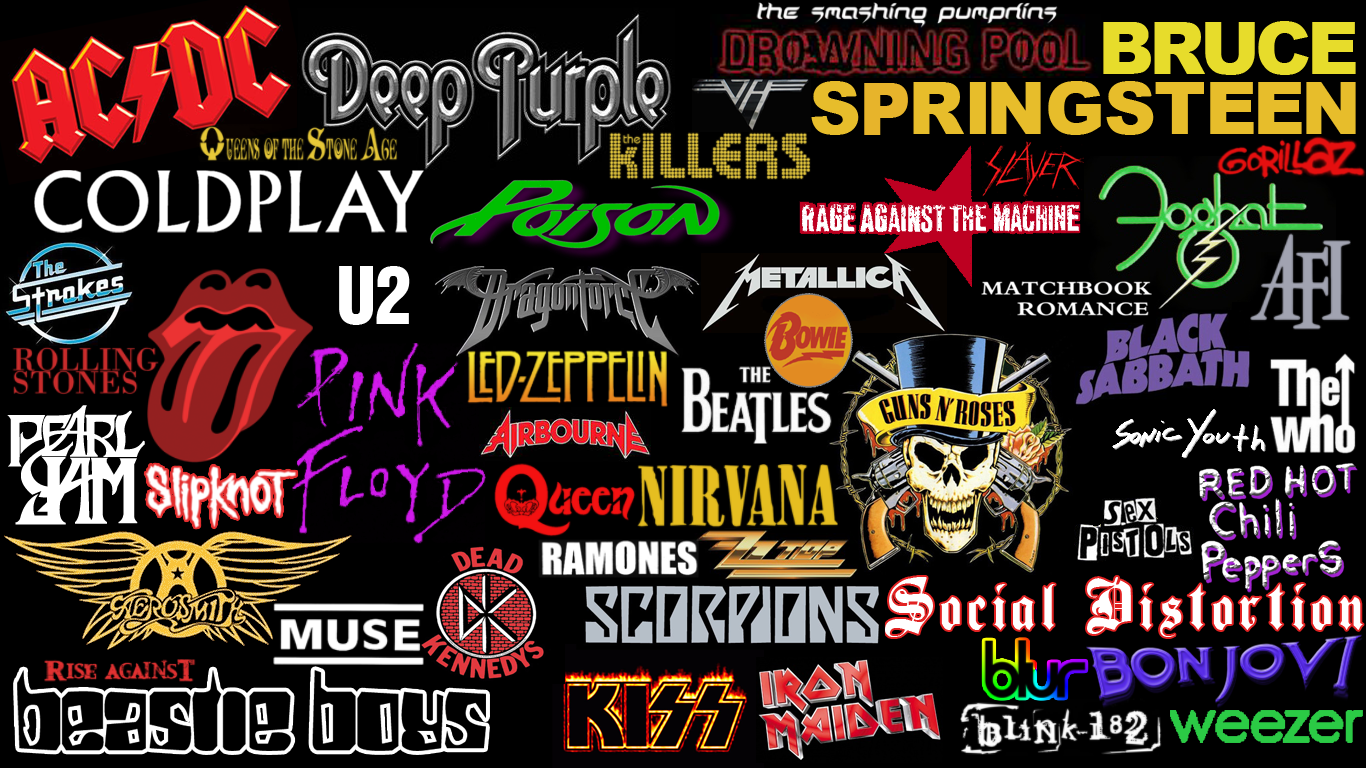 Rock Band Wallpapers Band Rock Lagu Penyanyi