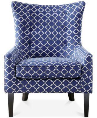 Astounding Brie Printed Fabric Accent Chair Quick Ship In 2019 Home Inzonedesignstudio Interior Chair Design Inzonedesignstudiocom