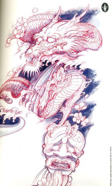 Gomineko Books Sketchbook Dragon Tattoo Drawing Fox Tattoo Design Sketch Book