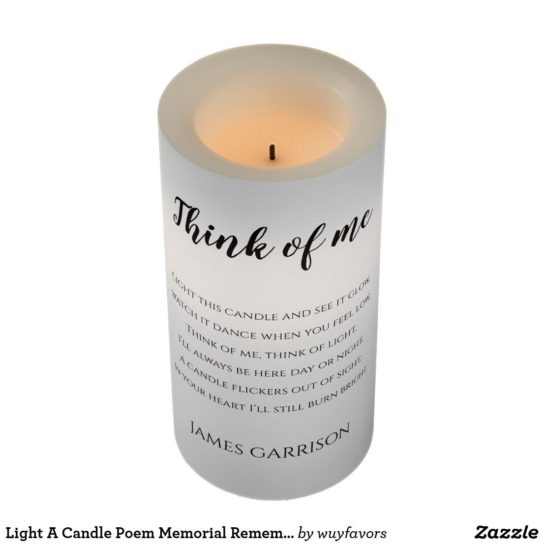 Light a candle poem memorial remembrance in