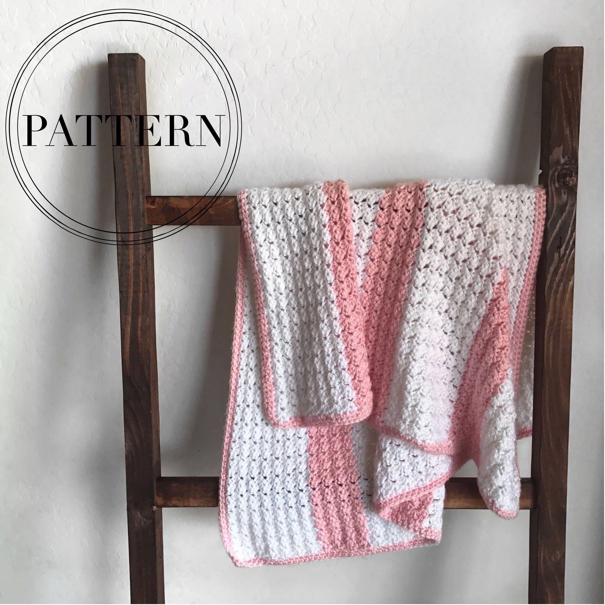 Crochet Baby Blanket Pattern Stroller Blanket Throw Pattern Afghan Tilia Blanket Pattern
