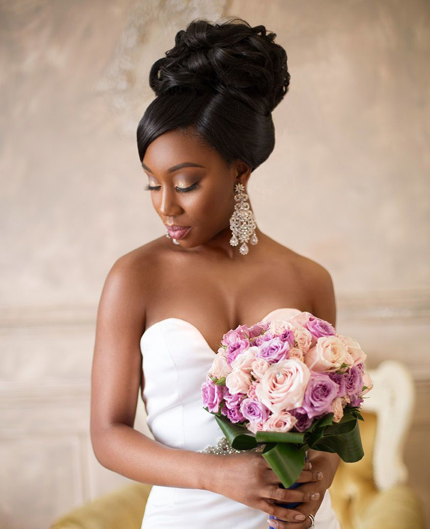 30 Creative And Unique Wedding Hairstyle Ideas: High Quality Human Hair Wigs For Black Bridals