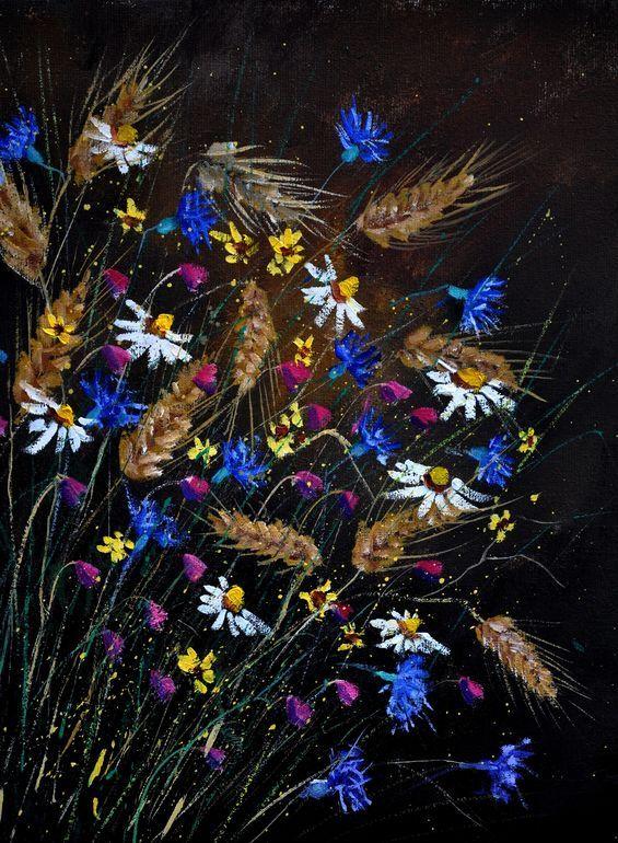 "Saatchi Art Artist: Pol Ledent; Oil 2014 Painting ""STILL LIFE 452150"""