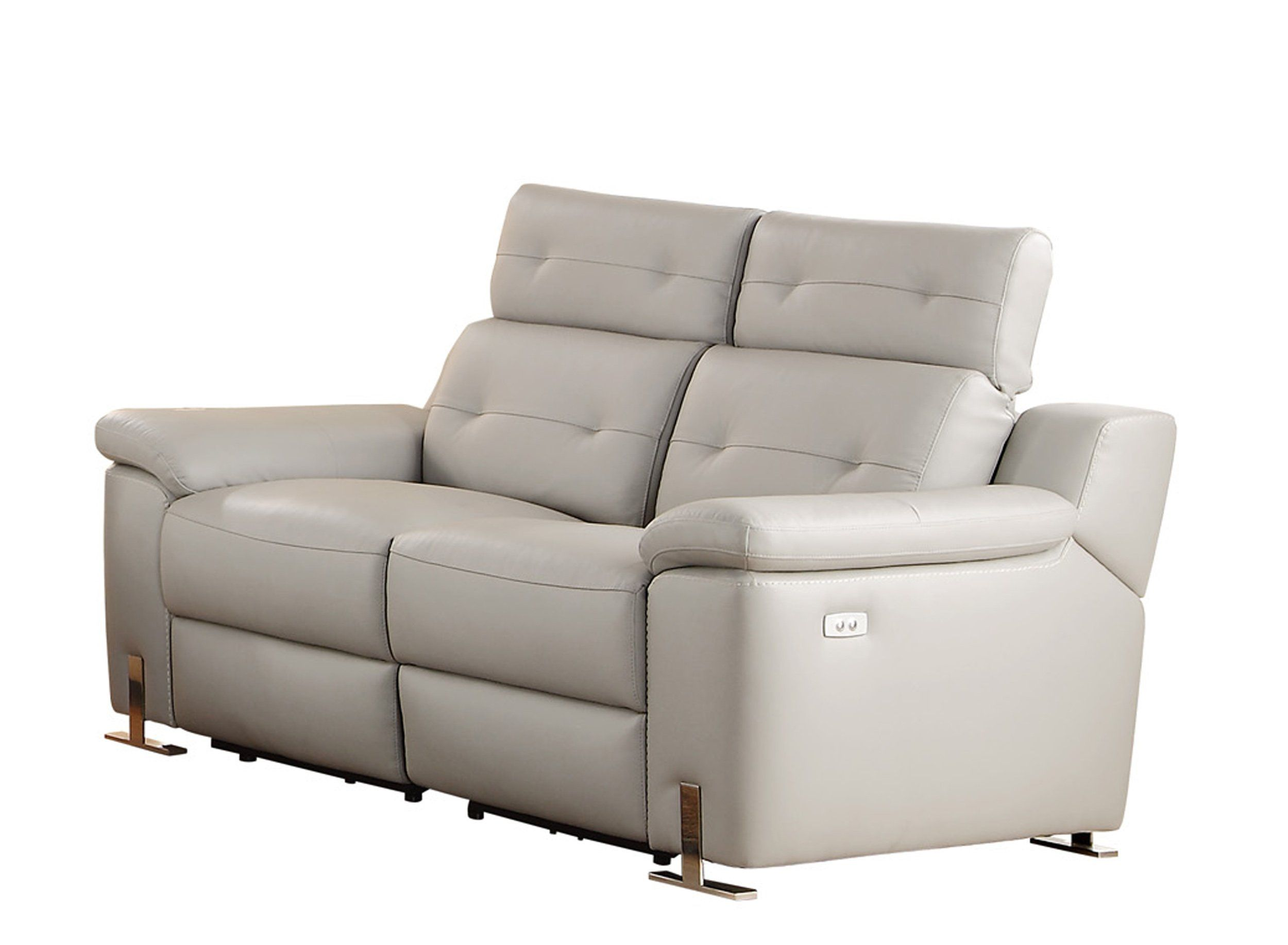 Homelegance Vortex Modern Design Power Double Reclining Loveseat