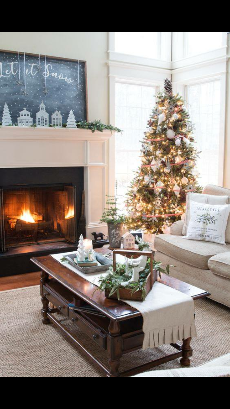Inspirational Small Living Room Christmas Decoration
