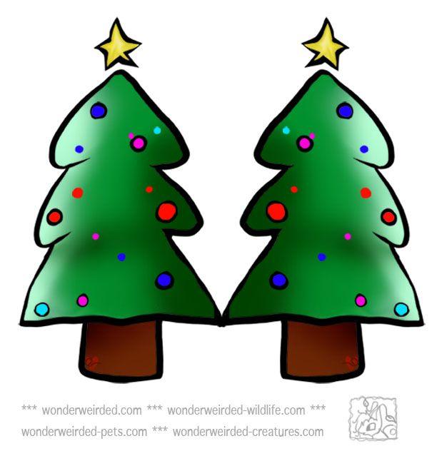 Free Christmas Trees Clipart Xmas Treeecho S Free Christmas Tree Clip Free Christmas Printables Free Christmas Christmas Ornament Crafts